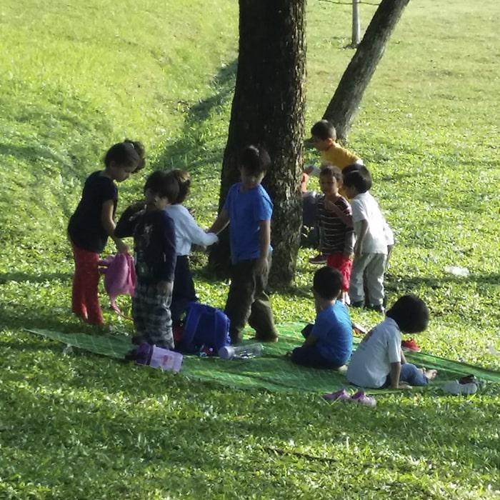 Montessori Student Sri Kayangan Montessori