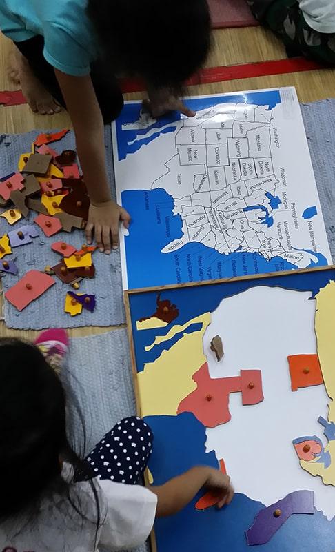 Montessori Methodology in Sri Kayangan